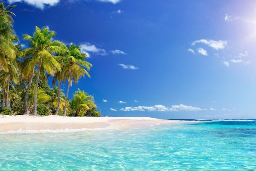 εξωτική παραλία