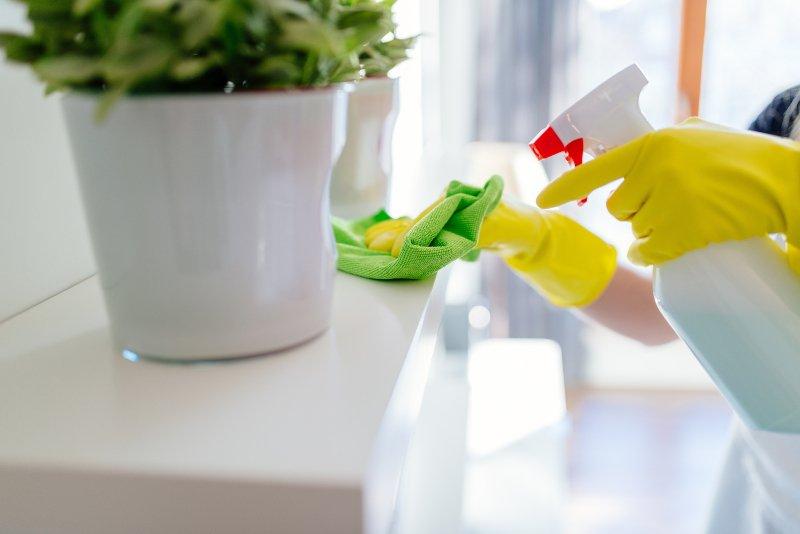 μανία με τη καθαριότητα