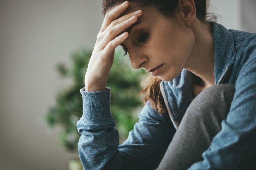 γυναίκα, στεναχώρια, κατάθλιψη
