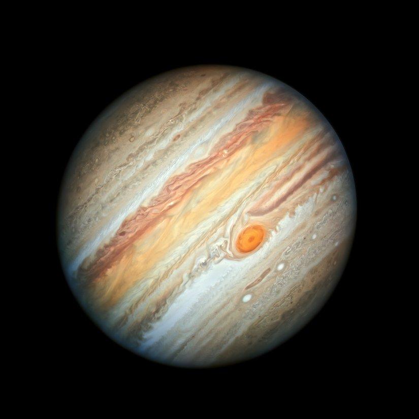 Ο Δίας -Φωτογραφία: NASA-ESA