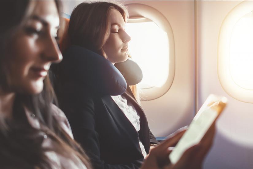 γυναίκες, πτήση, αεροπλάνο
