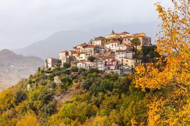 Χωριό στο Μολίζε της Ιταλίας