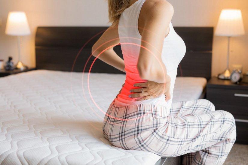 γυναίκα, πόνος στην πλάτη