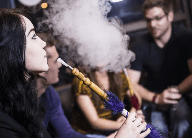 woman-smoking-hookah-and-wondering-is-hookah-bad-for-you
