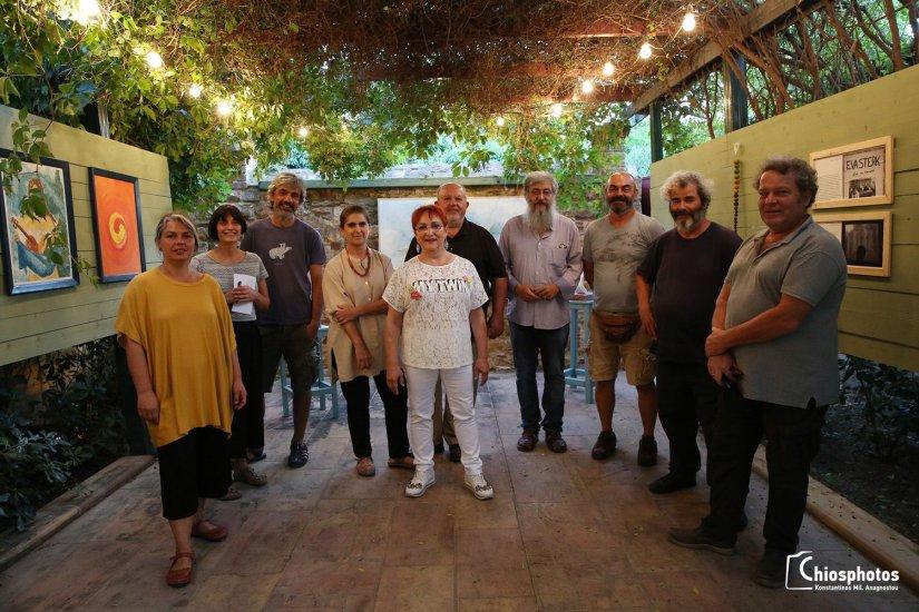 Έκθεση εικαστικών από το 4ο Φεστιβάλ Μούσα Ελληνική