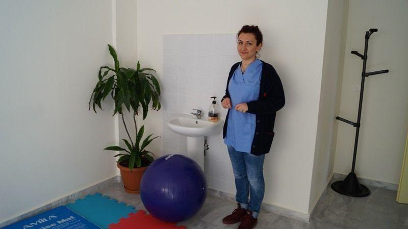Αγγελική Ψαρρά, Μαία στο Κέντρο Υγείας Χίου