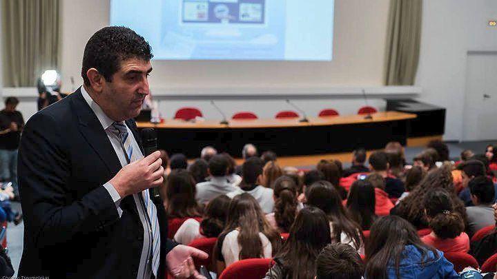 Ο Γιώργος Παπαπροδρόμου, διευθυντής της Διεύθυνσης Δίωξης Ηλεκτρονικού Εγκλήματος