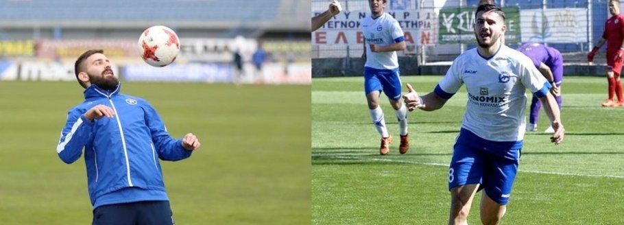 Γιάννης Μπαστιάνος αριστερά και Γιώργος Ξύδας δεξιά μετέχουν στην προετοιμασία των ομάδων τους, Αστέρα Τρίπολης και ΠΑΣ Γιάννινα αντίστοιχα