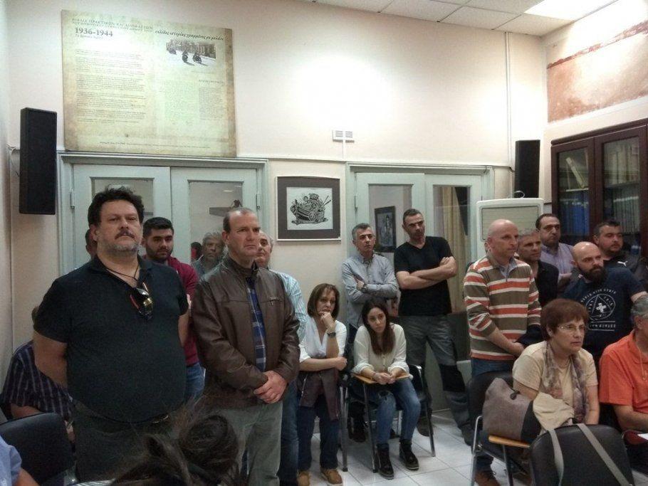 Δεκάδες επαγγελματίες στο Δημοτικό Συμβούλιο