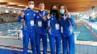 Στη σκυταλοδρομία 4Χ50 μ. mixed Εφήβων - Νεανίδων, η Εθνική μας ομάδα αποτελούμενη από τους Βασίλη Χατζηδάκη, Φωτεινή Παππά, Ισμήνη Ευαγγελάτου, Γιώργο Καλτσουκαλά κατέκτησε το χάλκινο μετάλλιο