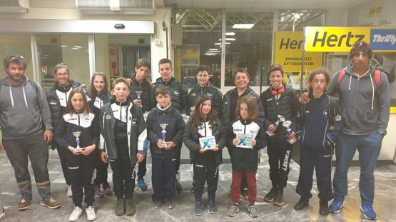 Η αποστολή του ΝΟΧ στο περιφερειακό πρωτάθλημα ιστιοπλοΐας 2019