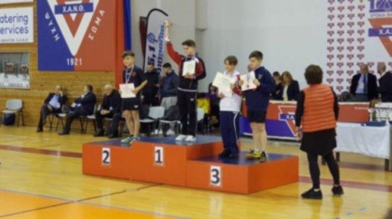 Δύο μετάλλια για τον ΝΗΡΕΑ ΚΑΡΔΑΜΥΛΩΝ στο αναπτυξιακό πρωτάθλημα πινγκ-πονγκ ΧΑΝ ΘΕΣΣΑΛΟΝΙΚΗΣ
