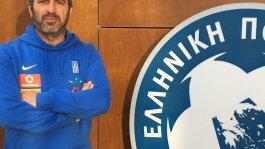 Ο Θεόδωρος Ελευθεριάδης, προπονητής της Εθνικής Παίδων στο ποδόσφαιρο