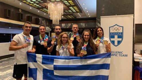 23 μετάλλια συγκέντρωσε η Ελλάδα στους 2ους Μεσογειακούς Παράκτιους Αγώνες, στην τεχνική κολύμβηση