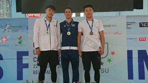 Δύο χρυσά μετάλλια κατέκτησε ο Γιάννης Πιπινιάς στην Πανεπιστημιάδα Τεχνικής Κολύμβησης!