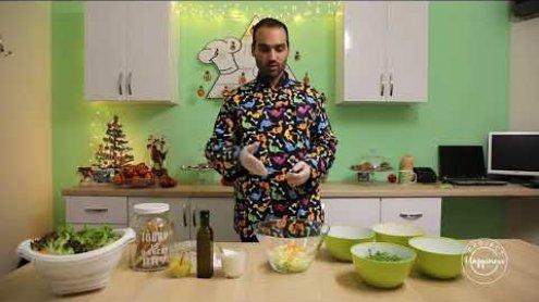 Project Happiness: Μυστικά για υγιεινή σαλάτα από Στυλιανό Κάρλο