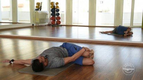 Project Happiness: Ασκήσεις pilates για τους πόνους της μέσης από το γυμναστήριο Ηρακλής