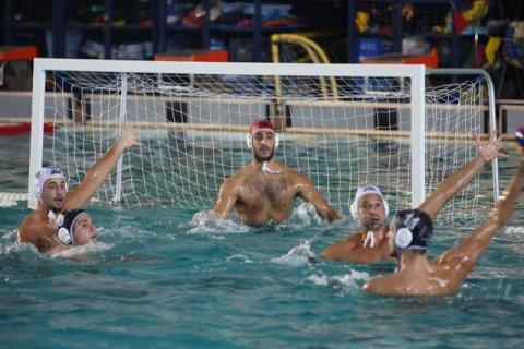 Φάση από το παιχνίδι του α' γύρου του ΝΟΧ με τον ΠΑΟΚ στο Ιωνικό Κολυμβητήριο