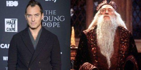 Ο Βρετανός ηθοποιός θα παίξει το ρόλο του θρυλικού μάγου και διευθυντή του Χόγκουαρτς που γνωρίσαμε μέσα από τα βιβλία και τις ταινίες Χάρι Πότερ