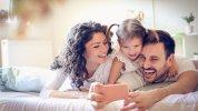 γονείς, παιδί, κινητό