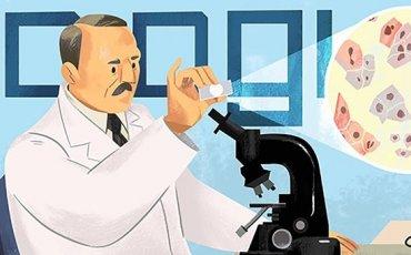 ο Γεώργιος Παπανικολάου στο doodle της Google