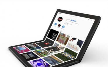 το αναδιπλούμενο laptop