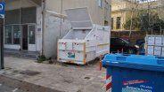 Πρέσα απορριμμάτων στην Λάδης