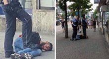 Ο άντρας σκότωσε μαι γυναίκα με ματσέτα και τραυμάτισε δύο ακόμη ανθρώπους πριν συλληφθεί