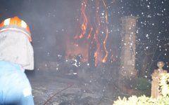 Πυρκαγιά σε σπίτι στο Αεροδρόμιο