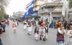 Οι Πυργούσοι Αττικής στην παρέλαση της 25ης Μαρτίου
