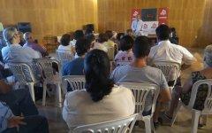 Από την ομιλία του Κ. Παπαδάκη στην Λαγκάδα