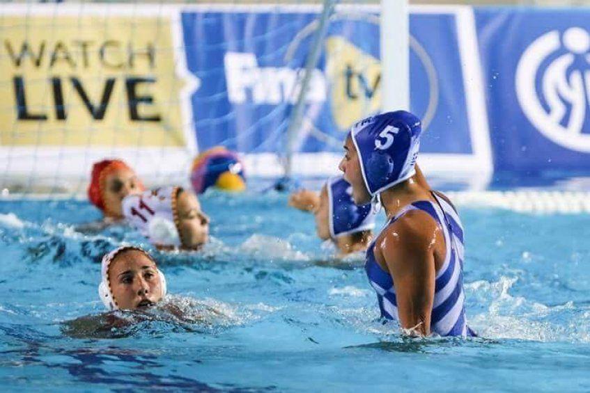 Χάλκινο μετάλλιο για την Ελένη Κανετίδου στο Παγκόσμιο Πρωτ/μα πόλο Νεανίδων με την ελληνική Εθνική Ομάδα