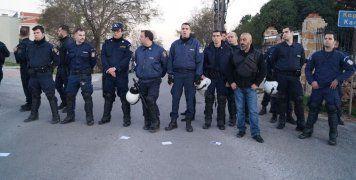 Αστυνομικός κλοιός πριν το Golden sahd