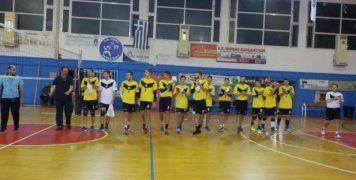 Ο Α.Ο. Μυτιλήνης απέκλεισε με 3-1 σετ τον Φ.Ο. Καμποχώρων στο Κύπελλο Ελλάδος Βόλεϊ Ανδρών