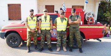 Μέλη της Λέσχης Εφέδρων Ενόπλων Δυνάμεων Χίου βοήθησαν στη διοργάνωση του 8ου Ημιμαραθωνίου Δρόμου της Χίου
