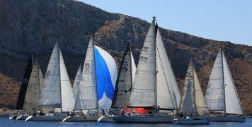 Ολοκληρώθηκε το πρώτο σκέλος της Aegean Regatta 2021 από τη Λέρο ως την Κω