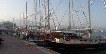 Στη Χίο 26 παραδοσιακά σκάφη που συμμετέχουν στο Bodrum Cup