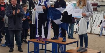 Η Γαβριέλα Χρουνεβέιχεν 2η στην κατηγορία κοριτσιών U12