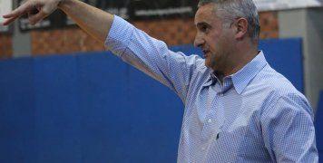 Ο προπονητής του ΒΑΟΛ, Παντελής Βούλικας