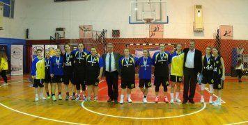 Η γυναικεία ομάδα του ΦΟΒ που έφτασε στον τελικό του Κυπέλλου Χίου των Γυναικών