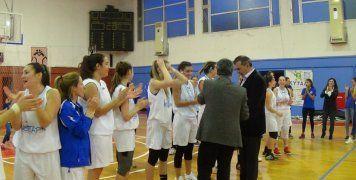 Απονομή στον για 3η συνεχόμενη φορά Κυπελλούχο Χίου στις Γυναίκες, Αιγέα