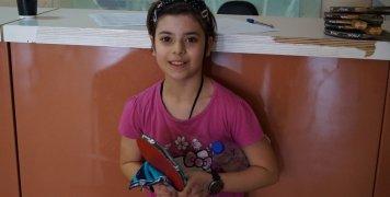 Η 10χρονη Βανέσα Μπουλά, της Βοκαριάς Νενήτων, είναι ήδη στο Νο 3 της πανελλήνιας λίστας Παγκορασίδων