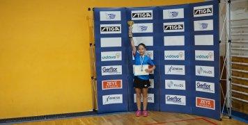 Η Άντζελα Νούρε κατέκτησε 3 χρυσά μετάλλια στο ΠΠ Παγκορασίδων, σε απλό, διπλό και ομαδικό