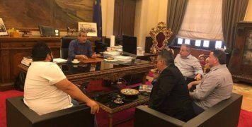 Από τη συνάντηση της ΕΠΣ Δωδεκανήσου με τον Περιφερειάρχη Νοτίου Αιγαίου
