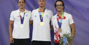 Αργυρό για τον Γιάννη Πιπινιά στα 100 μ. επιφανείας στους 2ους Μεσογειακούς Παράκτιους Αγώνες