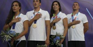 Χρυσό για τον Γιάννη Πιπινιά στα 4Χ100 mixed στους 2ους Μεσογειακούς Παράκτιους Αγώνες