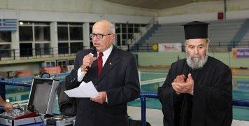 Ο Οδυσσέας Μαράτσος που παρουσίασε την εκδήλωση