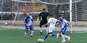 Στιγμιότυπο από το νικηφόρο παιχνίδι του Ηρακλή με 5-0 επί του Άτλαντα Νεοχωρίου. Φωτό: www.iraklis1958.gr