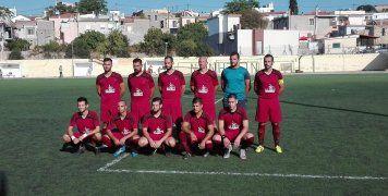 Η ομάδα της Θύελλας Χαλκειούς που τερμάτισε την αγωνιστική περίοδο 2017-2018 στην 3η θέση