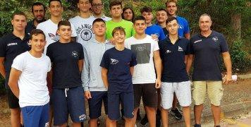 Η ομάδα Εφήβων του ΝΟΧ (2018) που προκρίθηκε στην τελική φάση του Πανελληνίου Πρωτ/τος